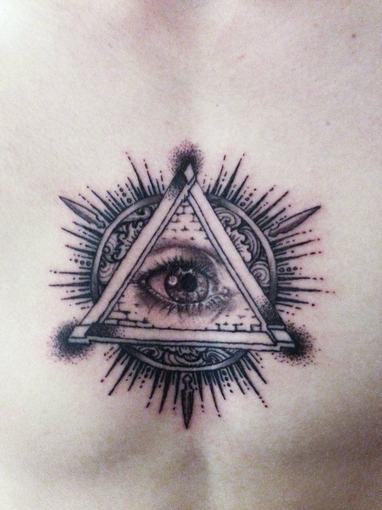 All Seeing Eye Tattoo Designs: Traditional All Seeing Eye Tattoo Design
