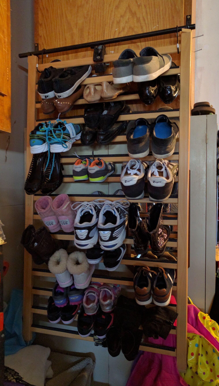 Make A Shoe Rack