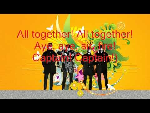 The Beatles Yellow Submarine (Lyrics) YouTube Fotos