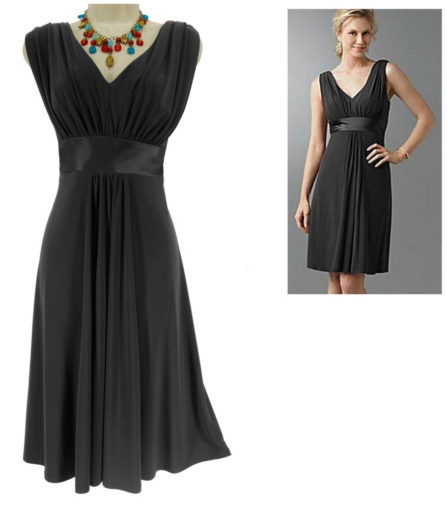Details about xl x sexy womens black ruched dress dayevening
