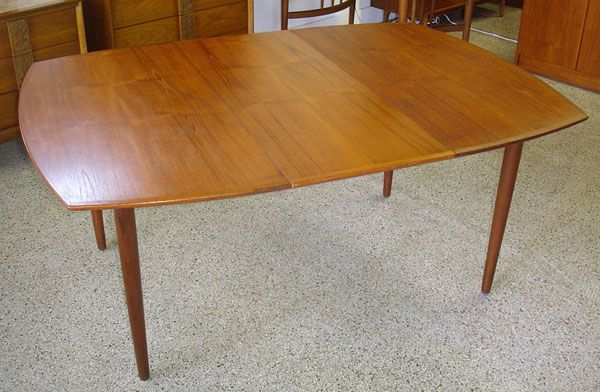 Bramin Vintage Modern Danish Teak Dining Table