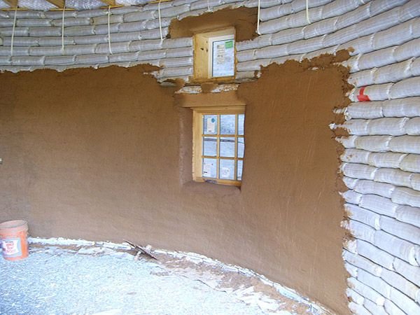 Building An Earthbag Round House For Less Than $5,000…