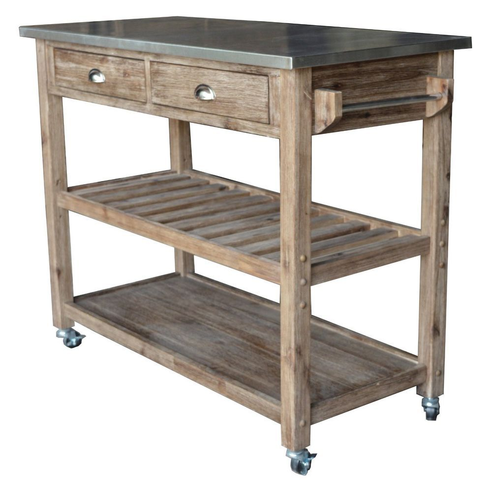 Modern Kitchen Island Storage Cart Dining Portable Wheels Bar Mobile Rustic Wood Doesnotapply Kitchen Cart Kitchen Island Storage Wood Kitchen