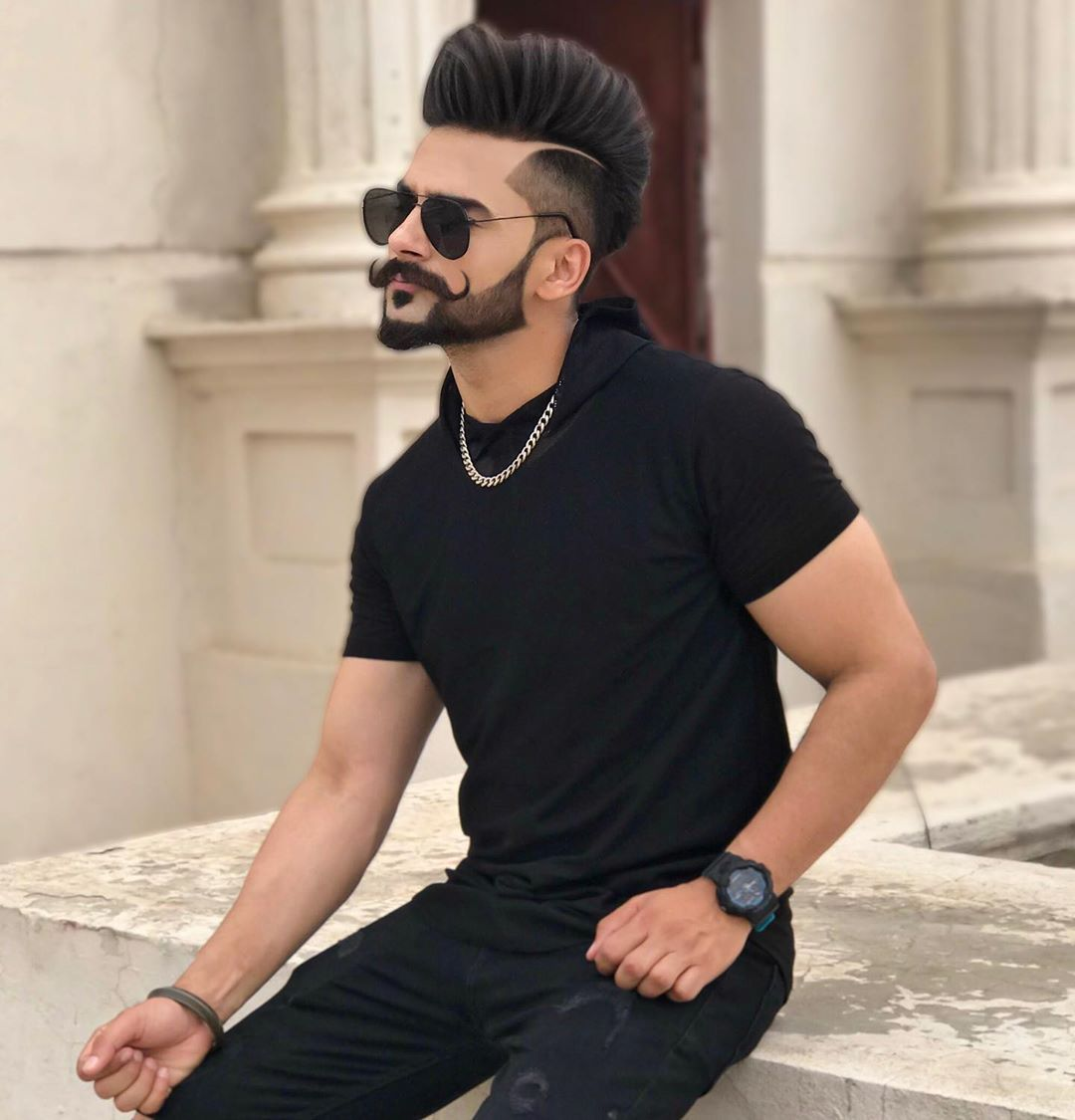 Image May Contain One Or More People People Sitting And Sunglasses Beard Styles For Boys Mens Facial Hair Styles Gents Hair Style