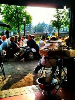 Restaurant Aan de Amstel Amsterdam East, lovely small restaurant #smallrestaurants