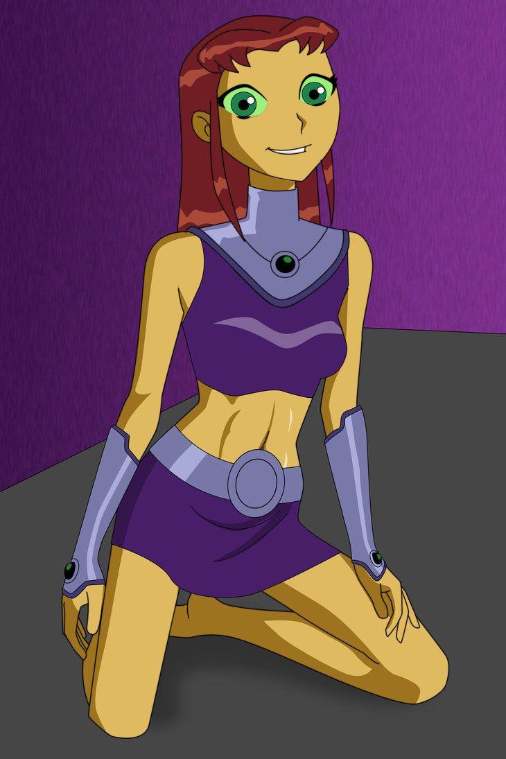 Starfire  Dc  Starfire  Pinterest  Teen Titans-6995