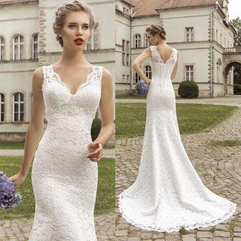 Kippur lace wedding dress