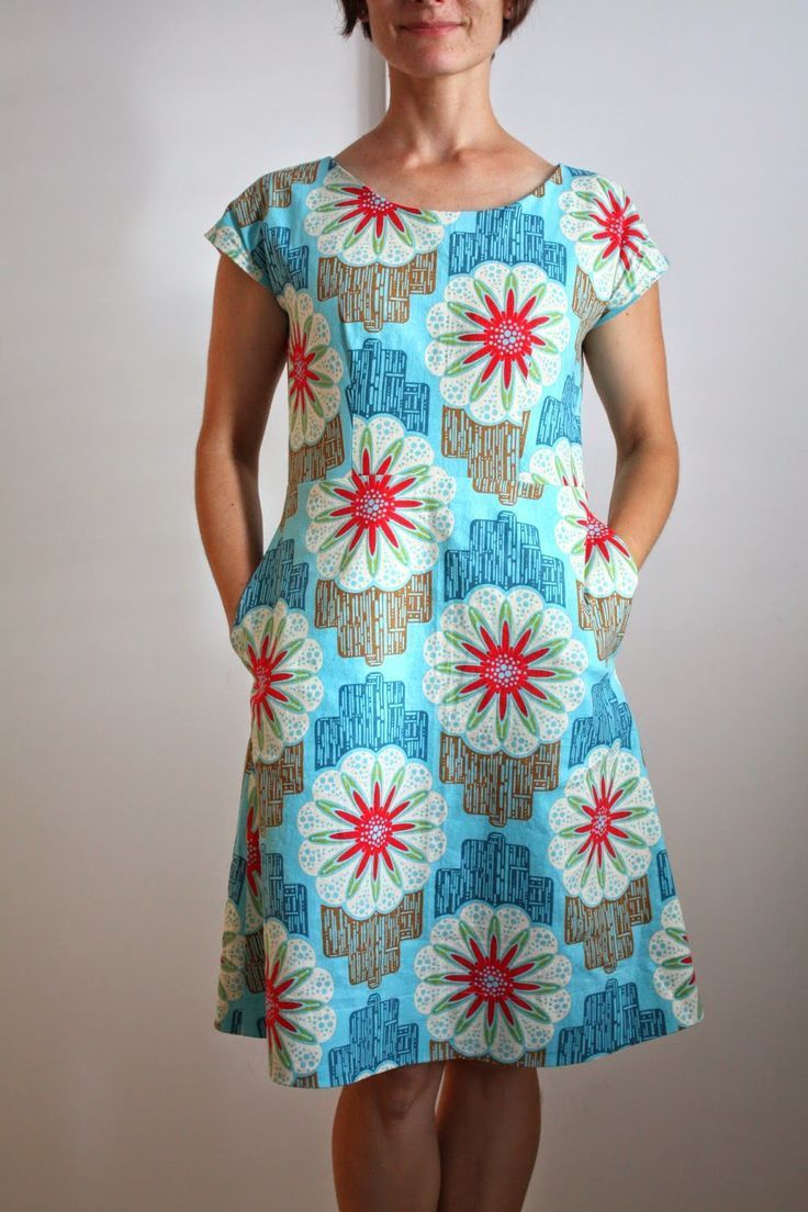 nicole at home: blue ribbon dress #afrikanischekleidung