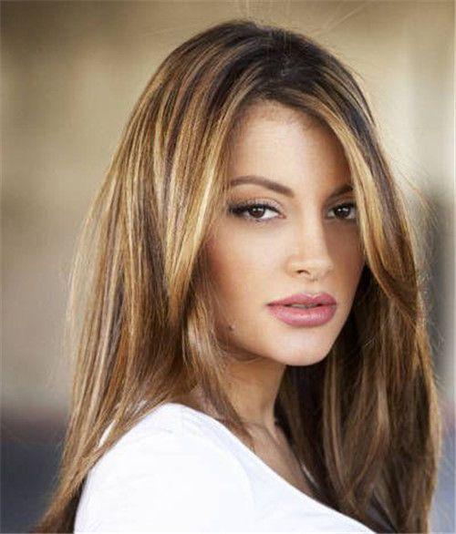 14 Inch Highlights Indian Remy Clip In Hair Extensions Usm514 95g Usm514 Vpfashion Com Hair Hair Beauty Light Hair