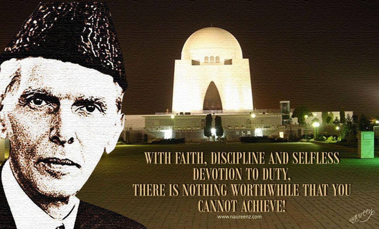 Quaid E Azam Quote Quotes Pinterest 14 August Wallpapers