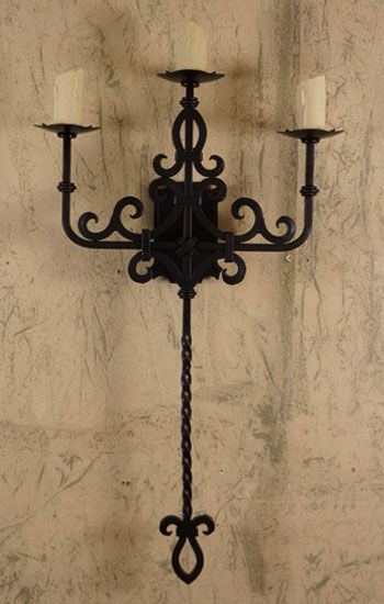 Presidio Spanish Revival Sconces Forja Lighting Decorative Wall Sconces Iron Wall Sconces Traditional Wall Sconces
