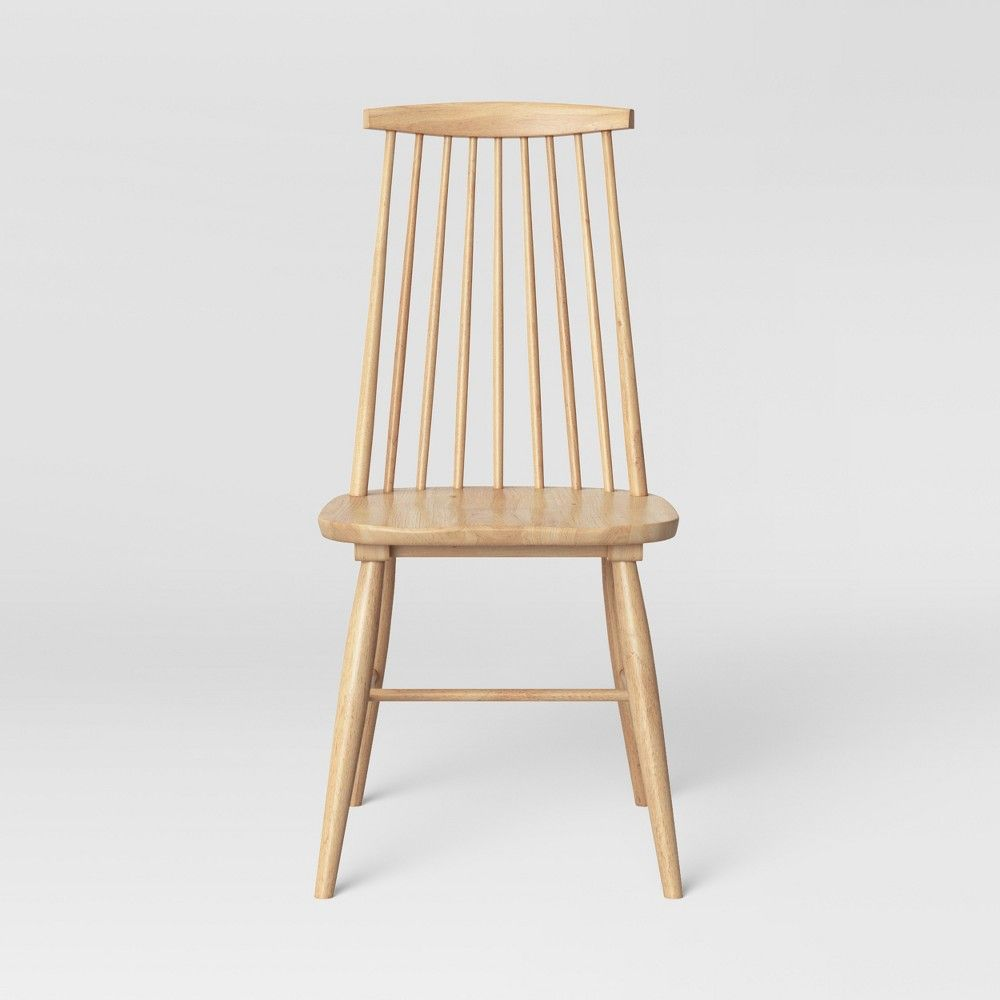 Harwich High Back Windsor Dining Chair Natural Threshold