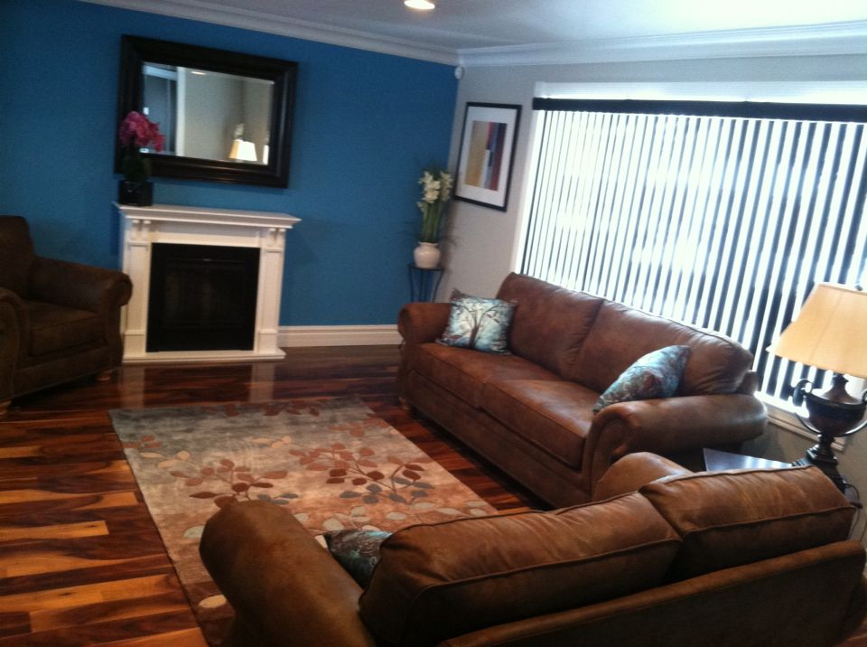 Living room ideas Teal, black, white | Home remodeling