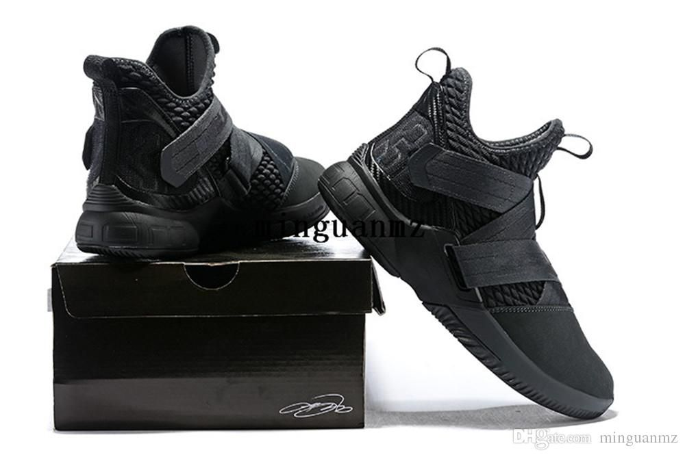 68f7f59c3b62d9 LeBron Soldier 12 Agimat LEBRON 12 LEBRON SOLDIER XII Basketball Shoes  James 12 men shoes szie us7-us12 with box