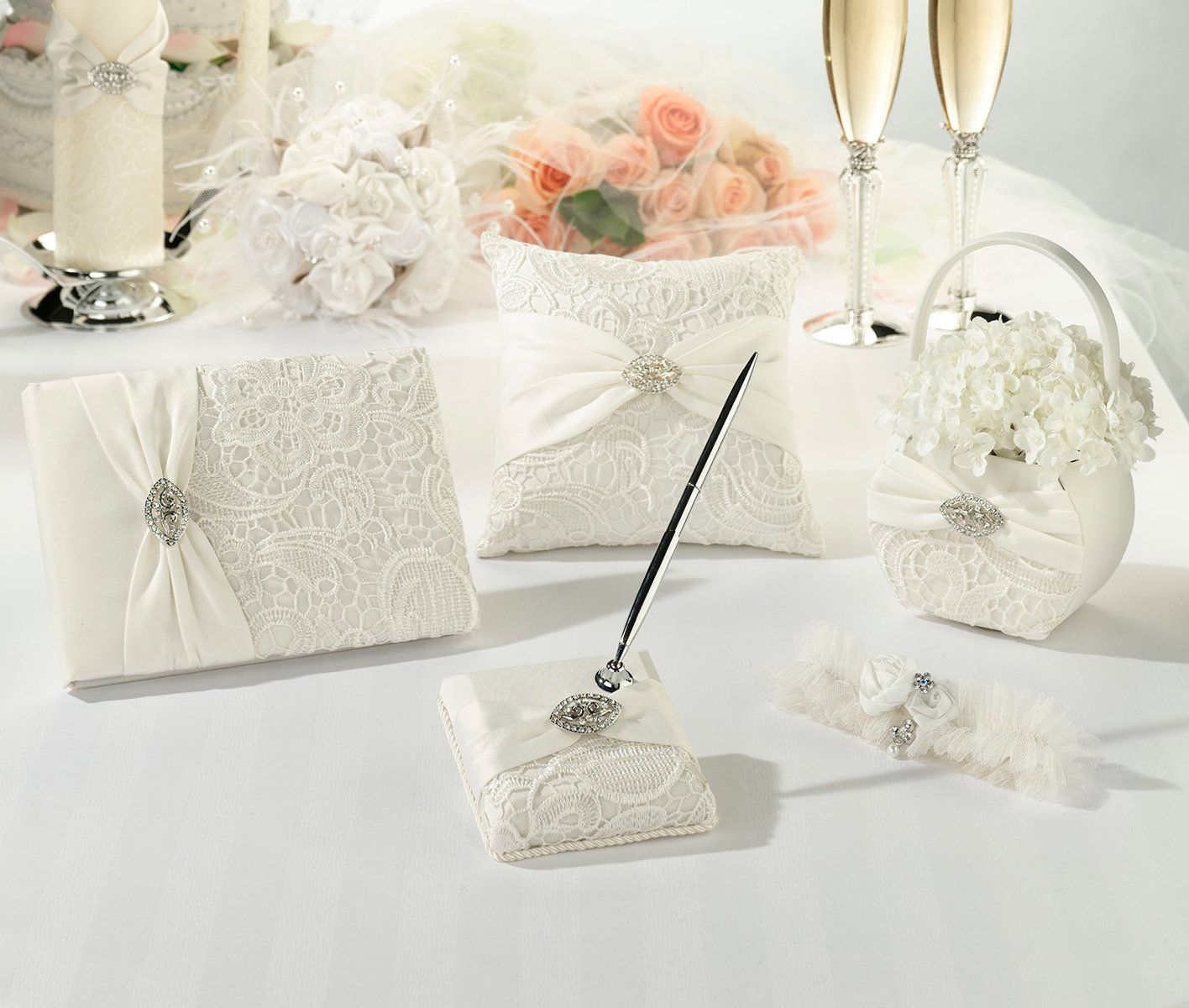 Vintage Lace Wedding Set Products Pinterest Products