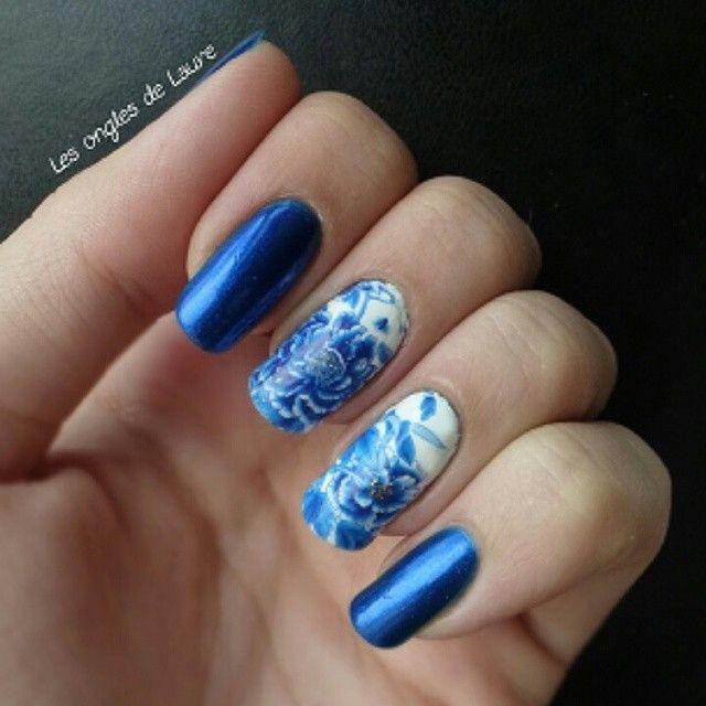 Gut gemocht Nouveau nail art sur le blog avec des waterdecals @neejolie  XH56