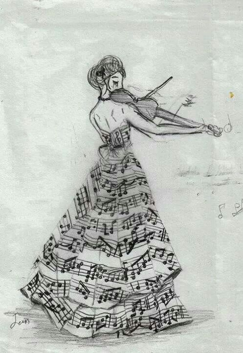 Dessin De Music sound of music! | sketches | pinterest | musique, musique peinture