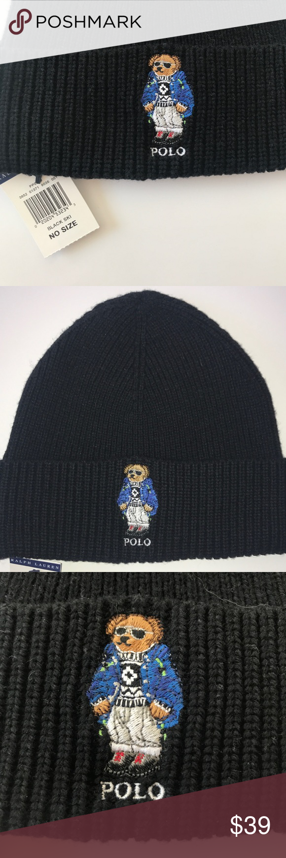 0a01cbcf00d73 POLO  Ski Bear  Hat  49 by Ralph Lauren POLO RALPH LAUREN  Ski Bear ...