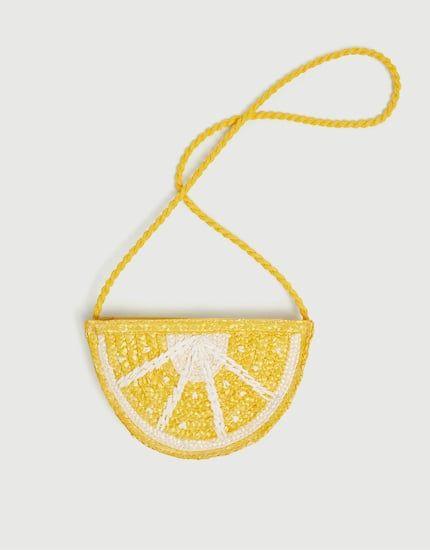 Photo of Сумка с плечевым ремнем «Лимон» – PULL&BEAR