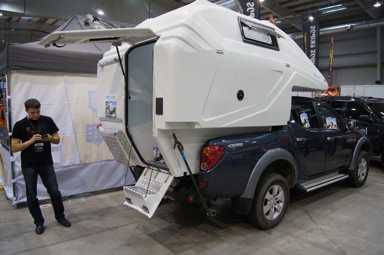 Stairs Pickup Camper Hilux Camper Truck Bed Camping