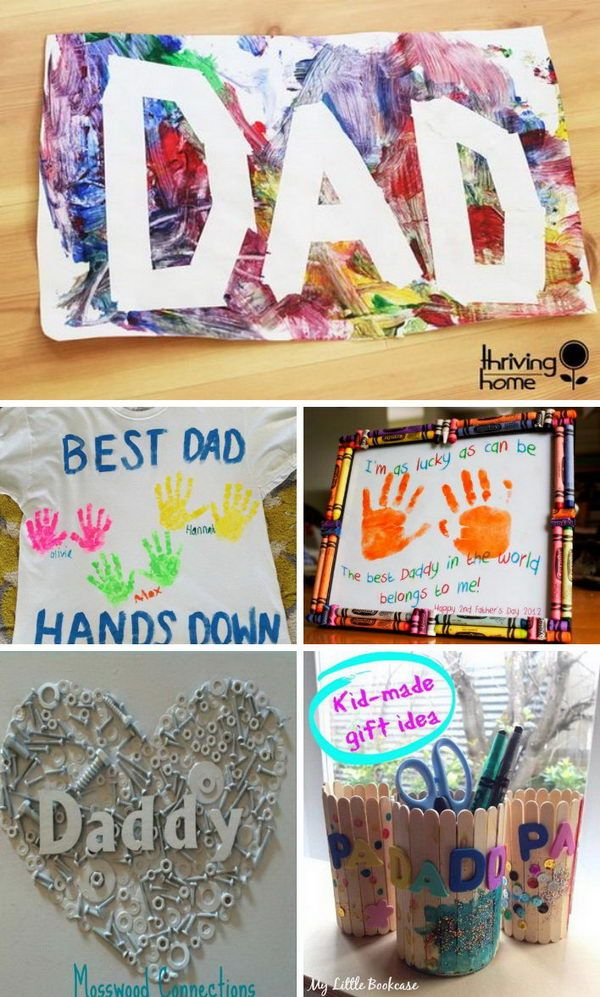 awesome diy father s day gifts from kids christmas gifts father