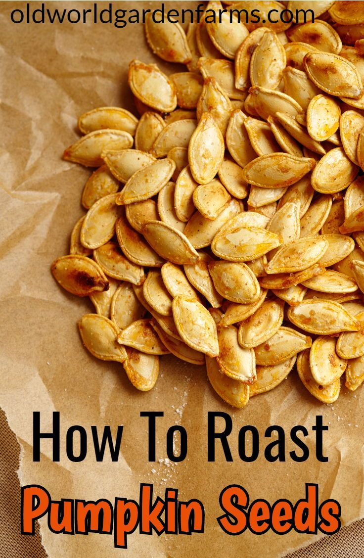 The BEST Way To Roast Pumpkin Seeds - Old World Garden Farms