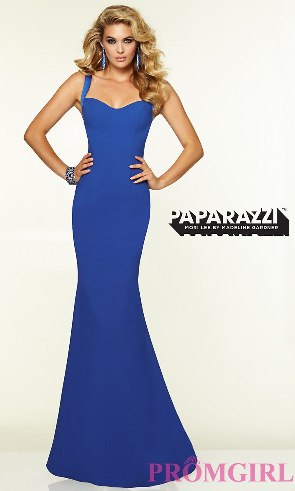 f857df9a04b Image of Mori Lee 97099 Sleek Backless Prom Gown Style  ML-97099 Detail  Image 2