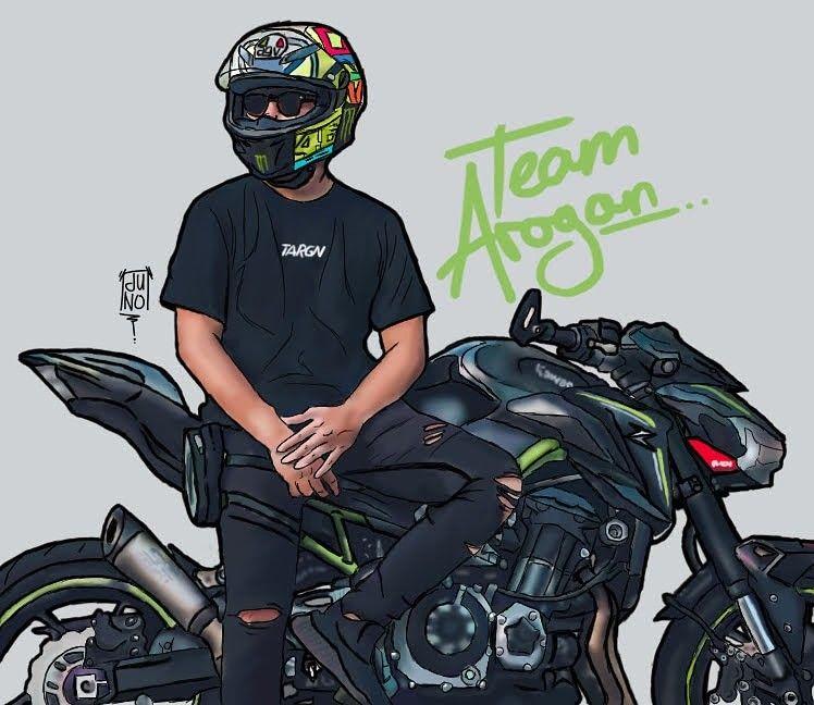 Team Arogan Harald Arkan Indonesian Motovloger My Original