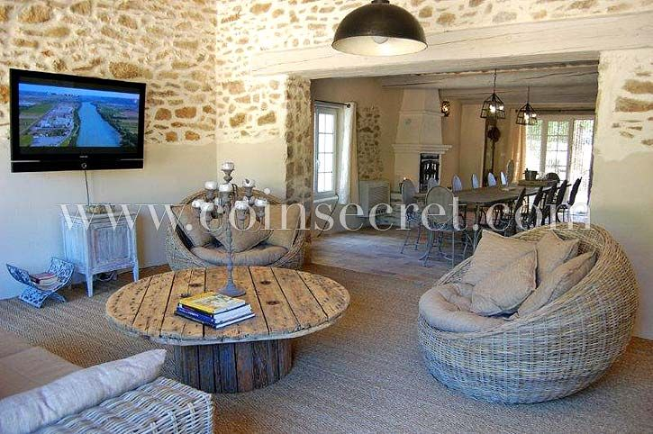 Location du0027un mas avec piscine privée, grande maison à louer - location saisonniere avec piscine privee