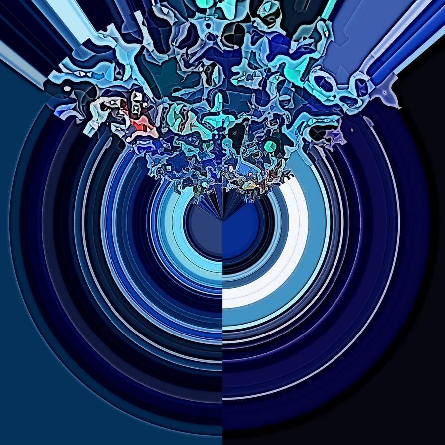A Geometric Expressionist Meditation created with Krita and G'MIC.  #krita #gmic #geometricexpressionism #geometric #expressionism #digital #meditation #abstract #abstractart #abstractexpressionism #digitalart #digitalpainting #art #wacom #prints #printsforsale #printsavailable #pixel #pixelart #pattern #mandala #gifts #merch #shopping #deviantart #blue
