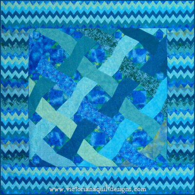 Ocean Waves quilt pattern. Getting the ribbons waving across the quilt is easy with my 'Paper Pieced by Number' pattern. http://www.victorianaquiltdesigns.com/VictorianaQuilters/BlockoftheMonth/OceanWavesPaperPiecedQuiltPatternV2.htm  I also have a free version here: http://www.victorianaquiltdesigns.com/VictorianaQuilters/BlockoftheMonth/OceanWavesPaperPiecedQuiltPattern.htm  This pattern is my variation on a Storm at Sea quilt! #quilting #stormatsea