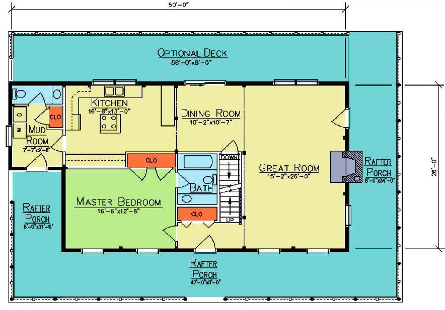 Ward Cedar Log Homes – Cedar Log Home Floor Plans