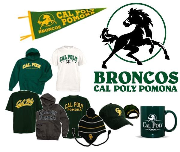 Cal Poly Pomona Your Green And Yellow Broncos Gear Cal Poly Pomona Broncos Gear Broncos