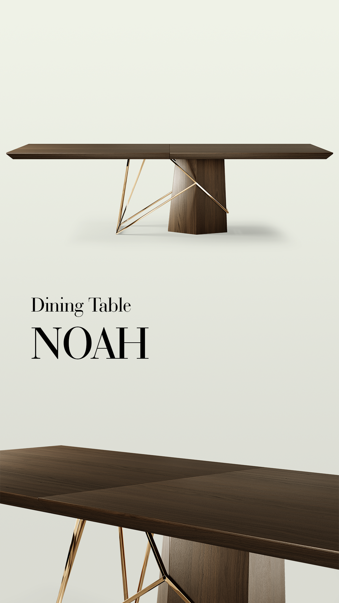 Noah Dining Table Brass Dining Table Dining Table Marble Luxury Dining Tables