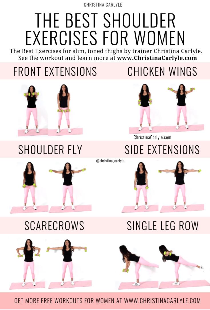 Shoulder Exercises for Women You should Do
