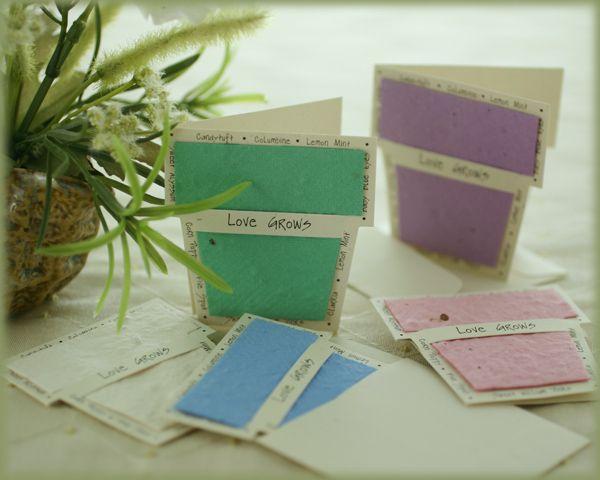 Tarjeta maceta en su interior contiene semillas de flores una buena idea para regalar ideas - Semillas de interior ...