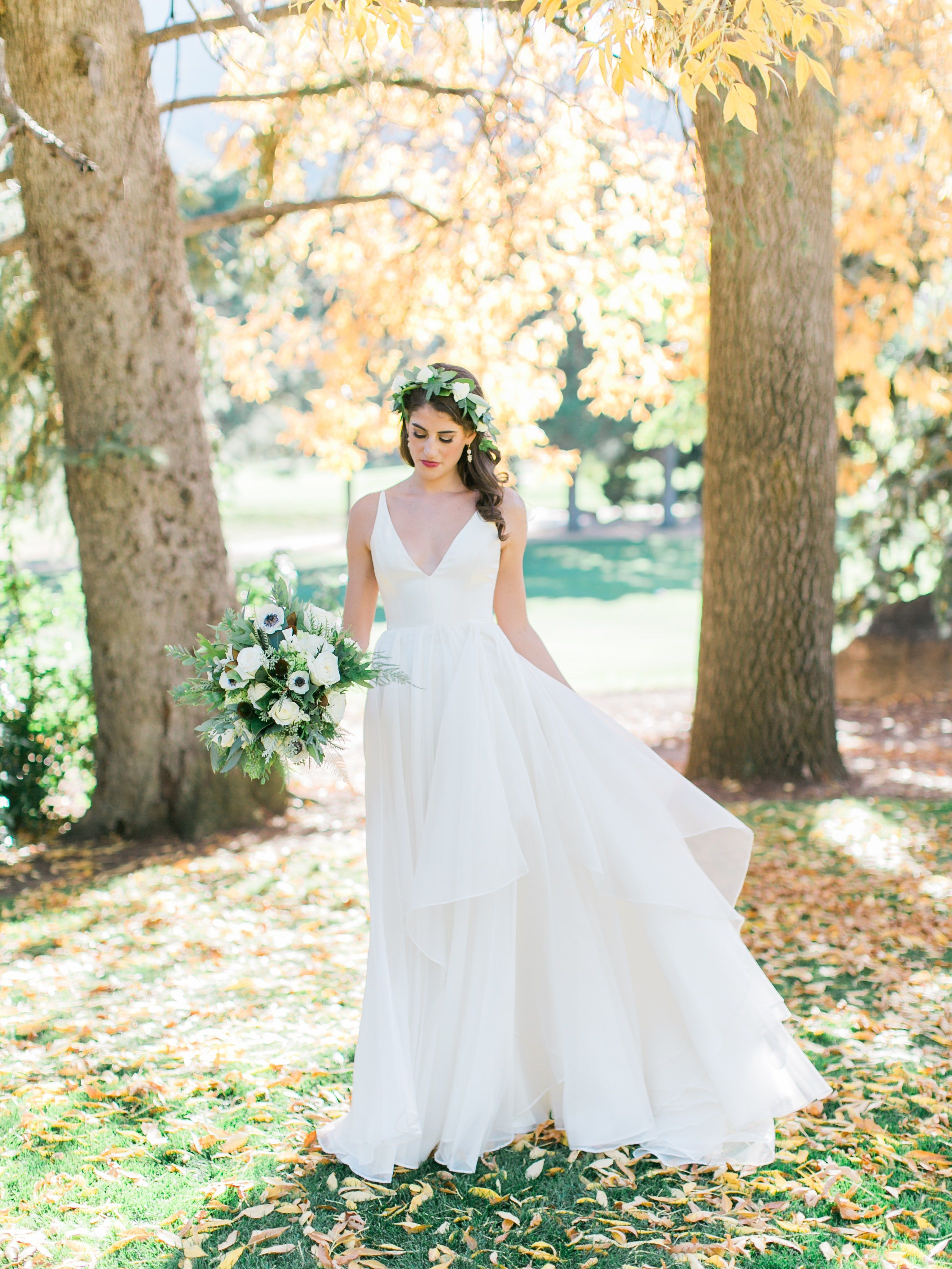 A Flower-Filled Wedding in Colorado Springs | Leanne marshall ...