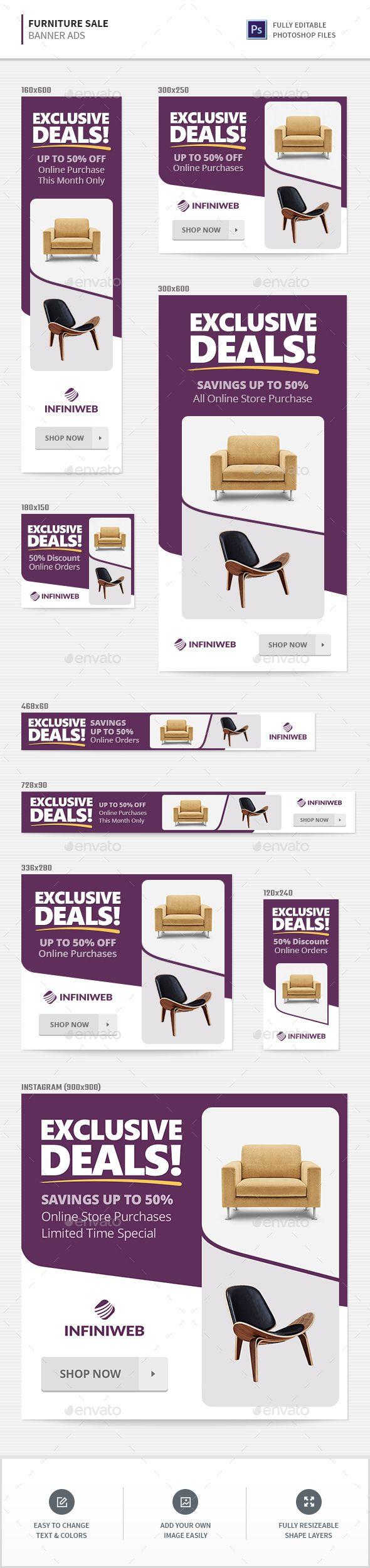 furniture sale ads. Plain Furniture Furniture Sale Banners  Banners U0026 Ads Web Elements Download Here  Httpsgraphicrivernetitemfurnituresalebanners20456473refu003dalena994 In Ads D