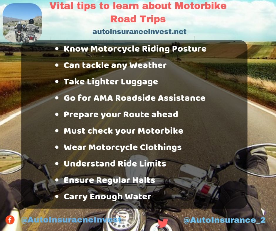 Vital Tips To Learn About Motorbike Road Trips Motorcycle Travel