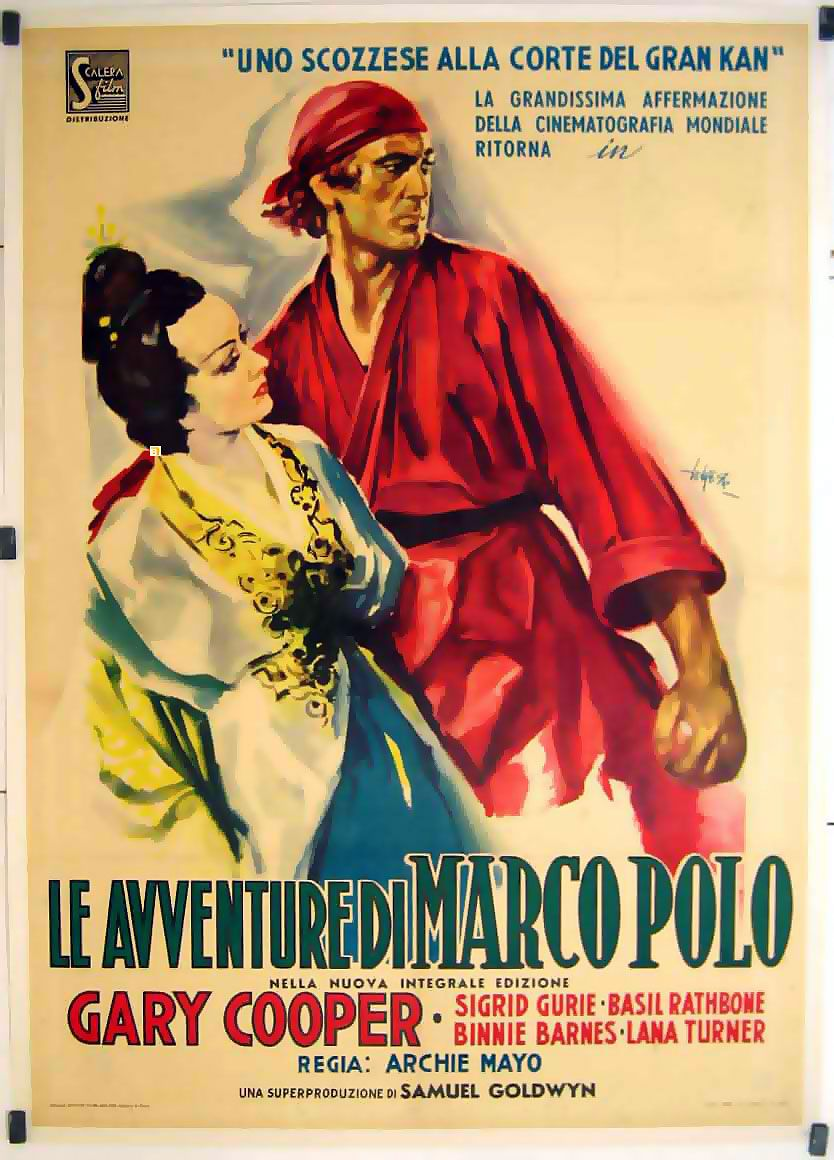 Cooper plays the Italian Marco Polo in a style that resembles his ...