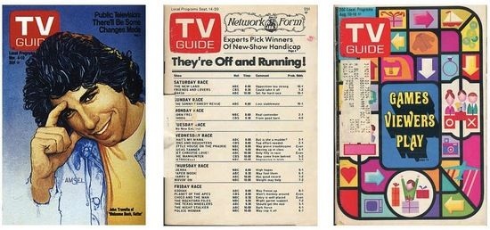 """TV Guides  back when they actually gave you the full tv listings with descriptions of every show in your area.  Not all about just gossipy """"news"""" like they are now.  Haven't read one in years, but I used to subscribe and read it cover to cover looking for good old movies or interesting shows."""