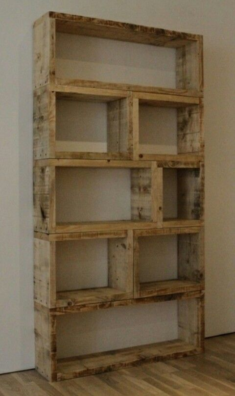 Separate Frames For A Large But Movable Bookshelf
