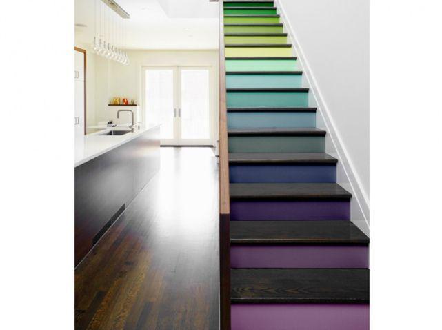 couleurs jouez sur les volumes de votre int rieur tendances pinterest maison. Black Bedroom Furniture Sets. Home Design Ideas