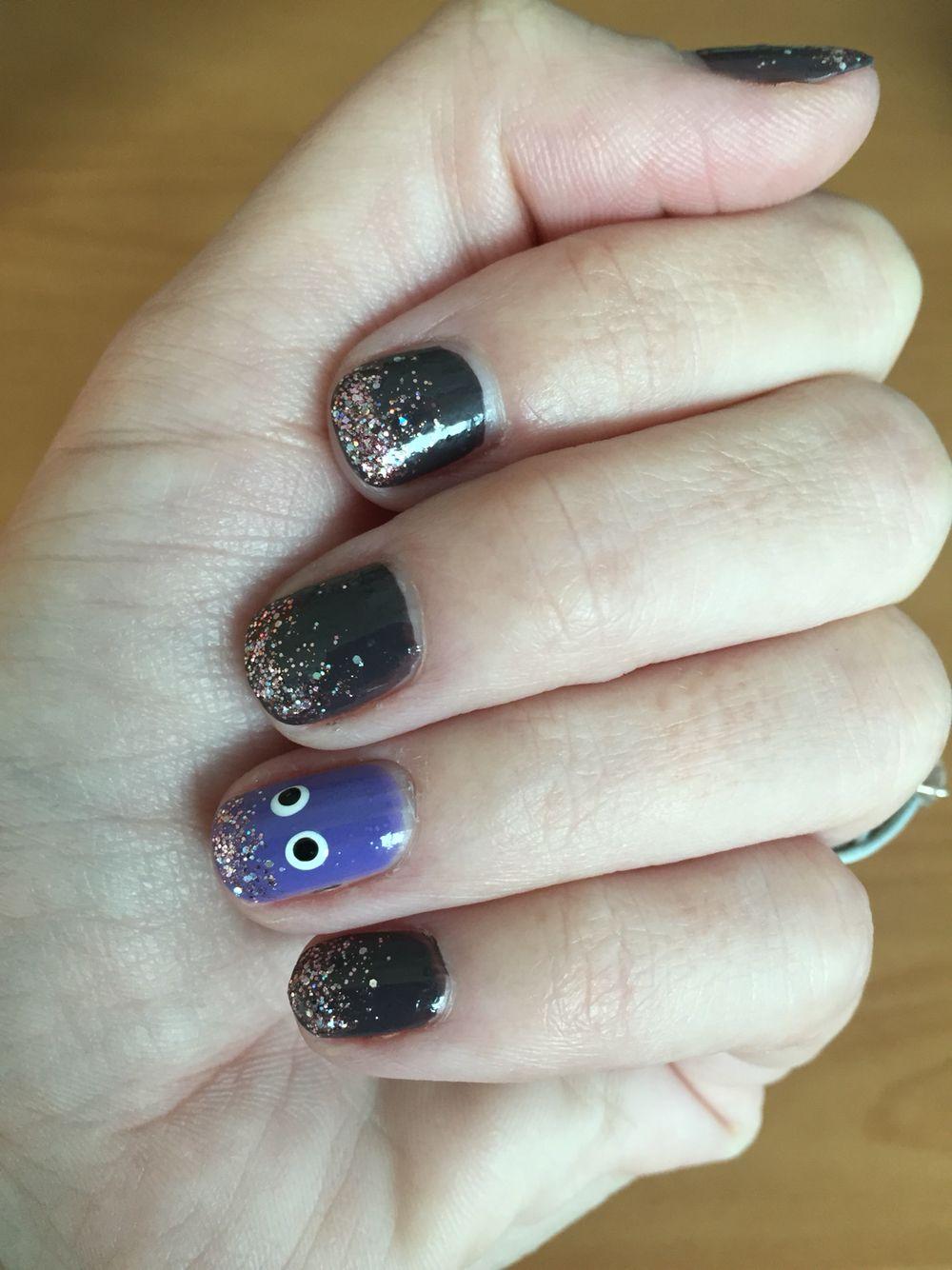 Subtle Halloween nails | Halloween nails, Nails, Halloween