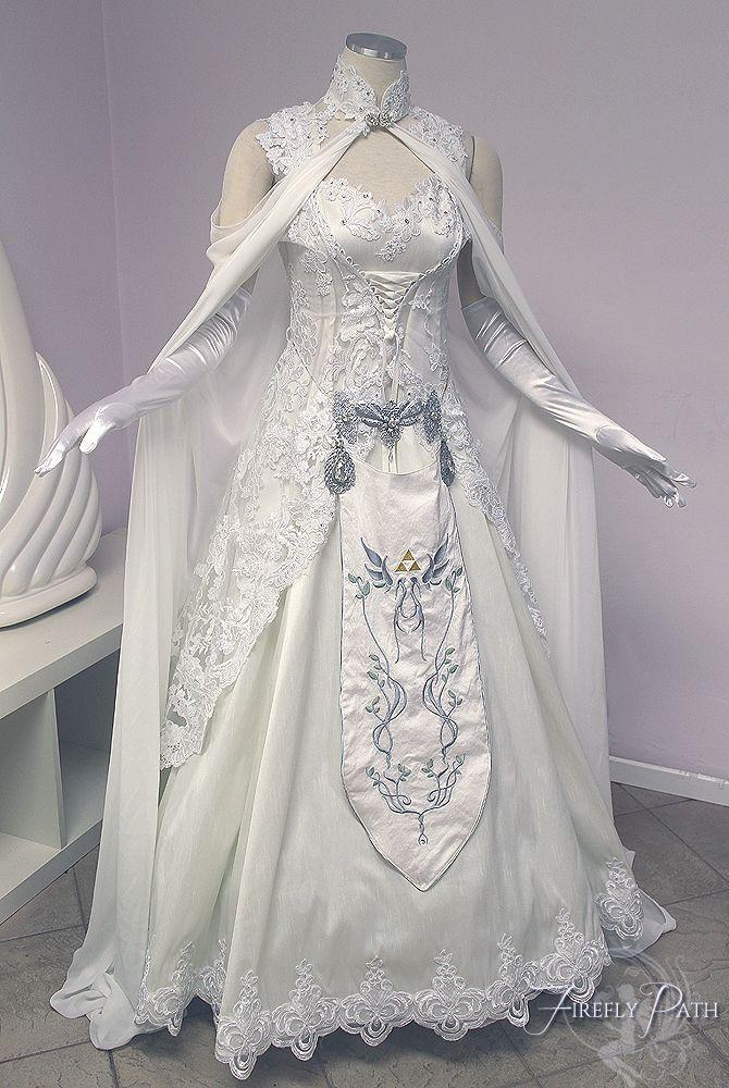 Princess Zelda Wedding Dress From Lillyxandra On Deviantart Http