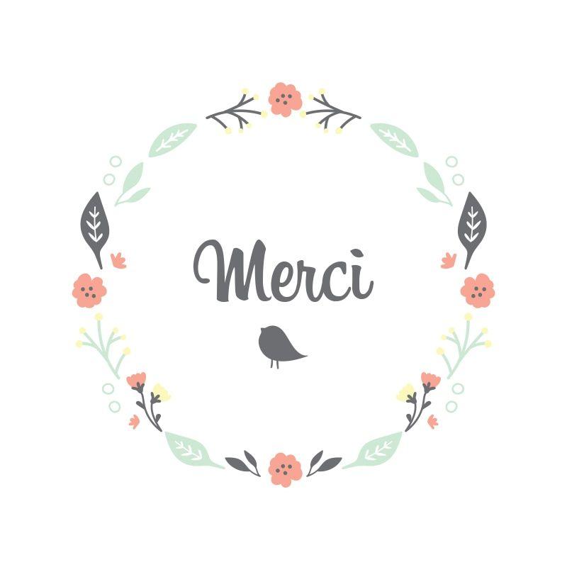 carte merci à imprimer Épinglé par Caroline Cormier sur merci | Carte remerciement, Carte