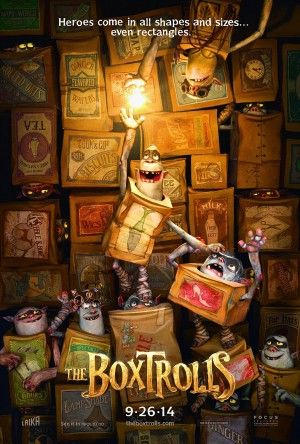 The Boxtrolls features voice work by Isaac Heampstead-Wright, Elle Fanning, Ben Kingsley and Tracy Morgan