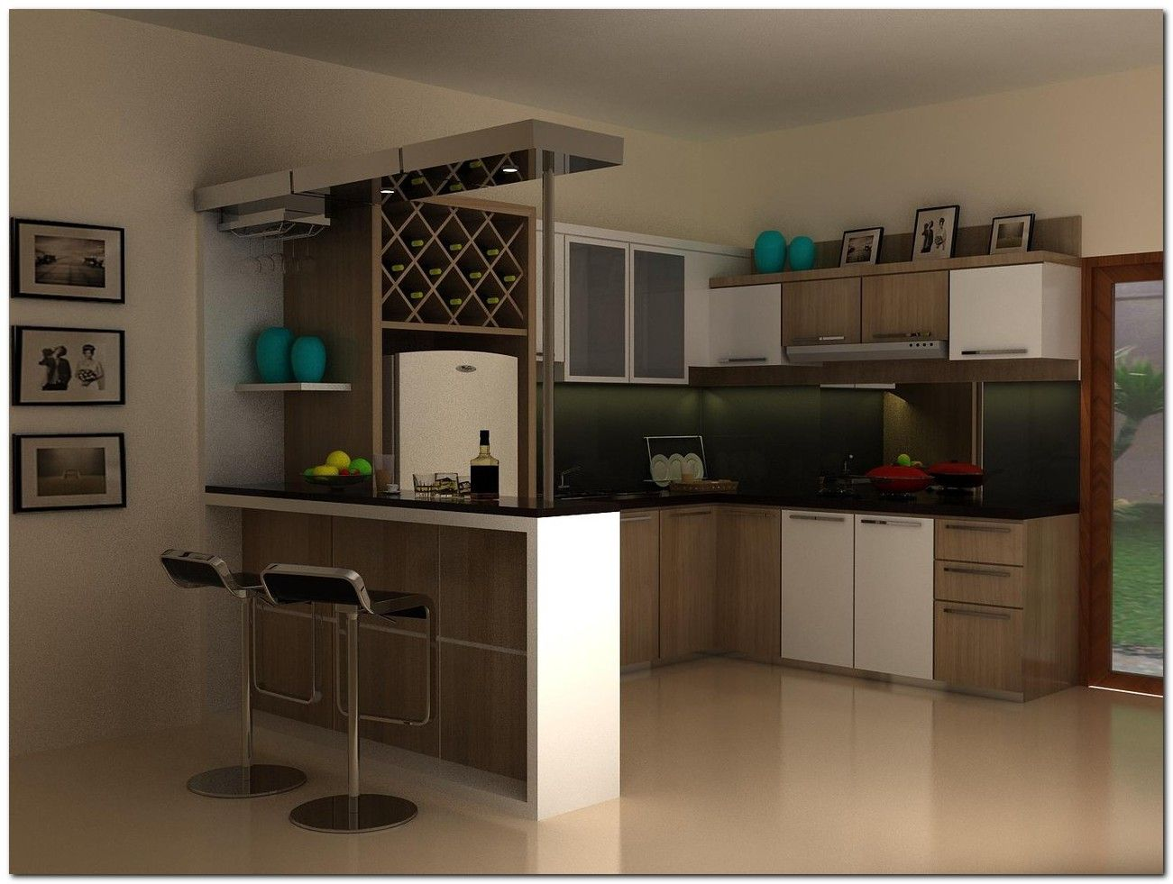 70+ Kitchen Bar Minimalist Ideas   The Urban Interior ...