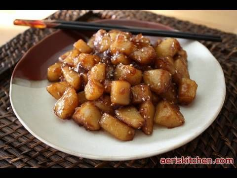 Korean Food: Potato Side-dish (감자 조림=GamJa JoRim)