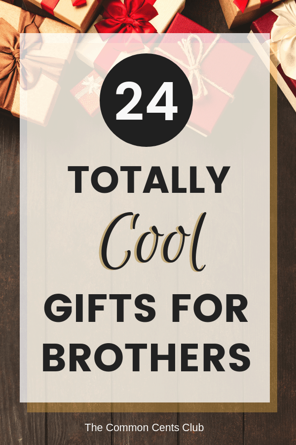 24 Best Gifts For Brother Cool Amazon Gift Ideas He Actually Wants 24 Best Gi Best Gift For Brother Christmas Gifts For Brother Birthday Gifts For Brother